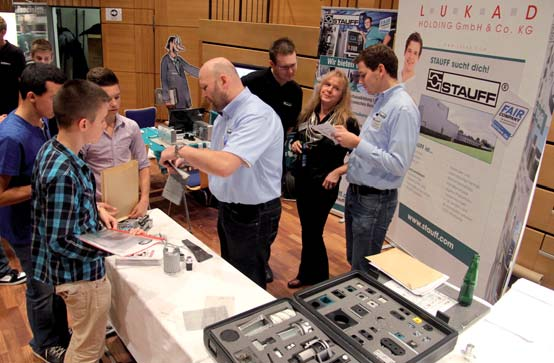 Photo of Viele Anfragen nach Praktika bei der Firma Stauff