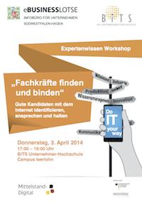 Photo of eBusiness-Lotse: Expertenwissen Workshop – Fachkräfte finden und binden
