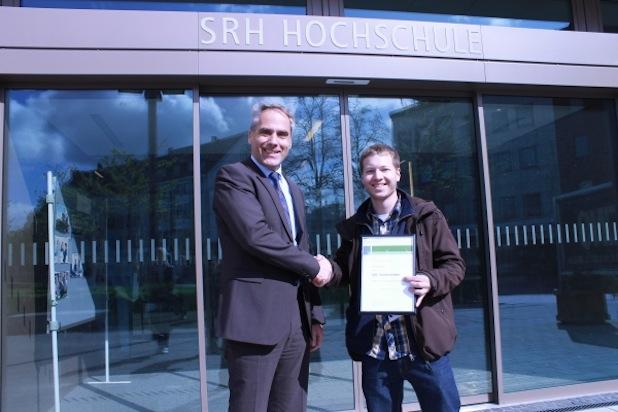 Photo of 600. Studierender an der SRH Hochschule Hamm