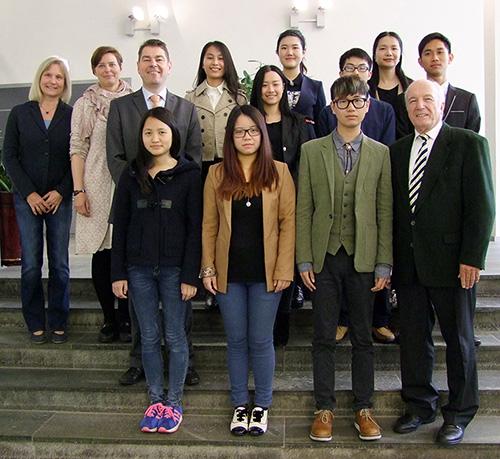 Photo of Chinesische Studierende auf Kurs Kiel