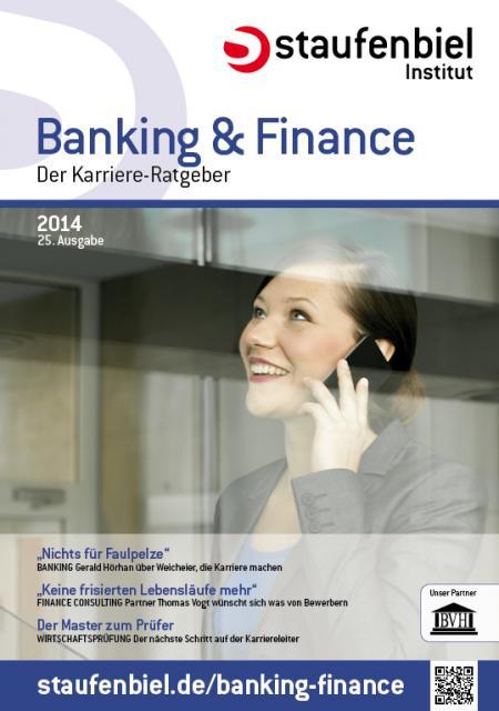 Photo of Karriere-Ratgeber Staufenbiel Banking & Finance 2014 erschienen