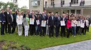 Verleihung des Prädikats Familienfreundliches Unternehmen 2014