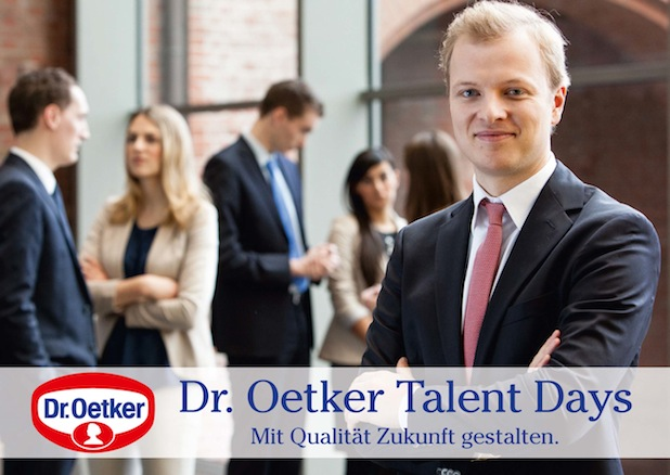 Photo of Dr. Oetker Talent Days am 20. und 21. November 2014