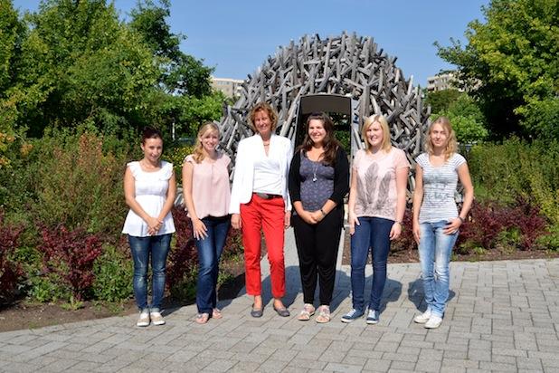Photo of Hochschule Koblenz begrüßt drei neue Auszubildende