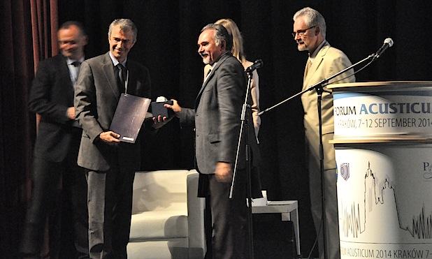 Photo of RWTH-Professor Michael Vorländer erhält Auszeichnung