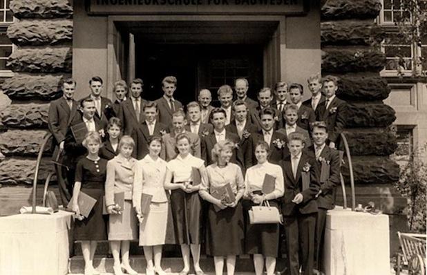 Photo of Studienabschluss vor 55 Jahren