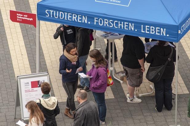 Photo of Hochschulinformationstag auf dem Campus Merseburg