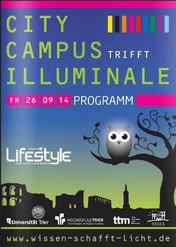"""Photo of Kompakt: """"City Campus trifft Illuminale"""" auf 86 Seiten"""