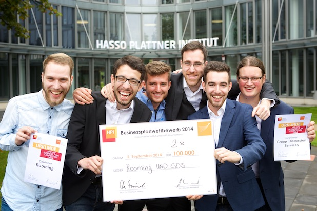 Photo of Finale im Businessplan-Wettbewerb des Hasso-Plattner-Instituts