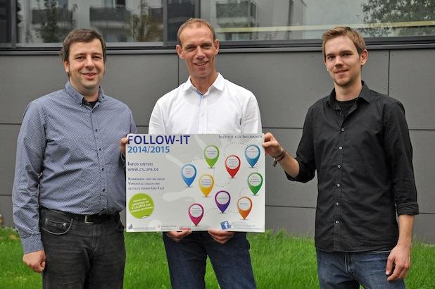 Photo of Follow-IT – Schülerworkshops 2014/15 im Institut für Informatik der Universität Paderborn