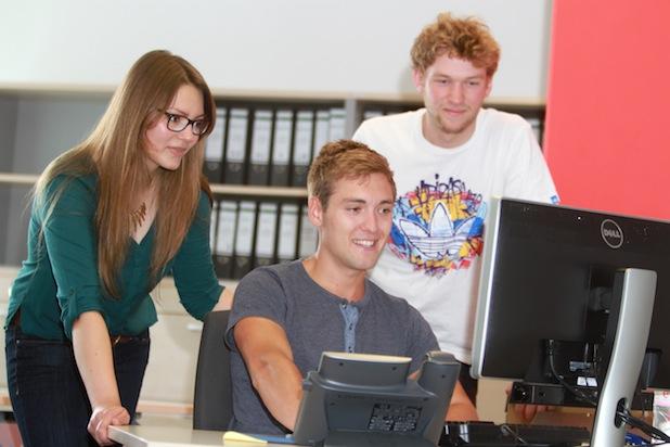 Jade Starter bietet Studierenden die Möglichkeit, mit Existenzgründern in Kontakt zu treten und Tipps für eine erfolgreiche Gründung zu erhalten. Foto: Jade Hochschule/Piet Meyer