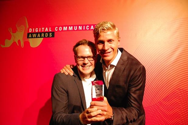 """Photo of Berufsorientierungsplattform blicksta der Medienfabrik ist """"Innovation of the Year 2014"""