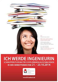 Photo of Schnupperstudium 2014 an der FH Lübeck