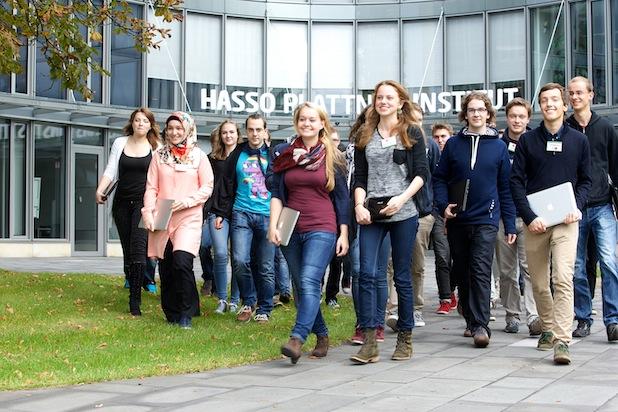 Erstsemester-Tag im HPI. Quelle: obs/HPI Hasso-Plattner-Institut/Dirk Laessig
