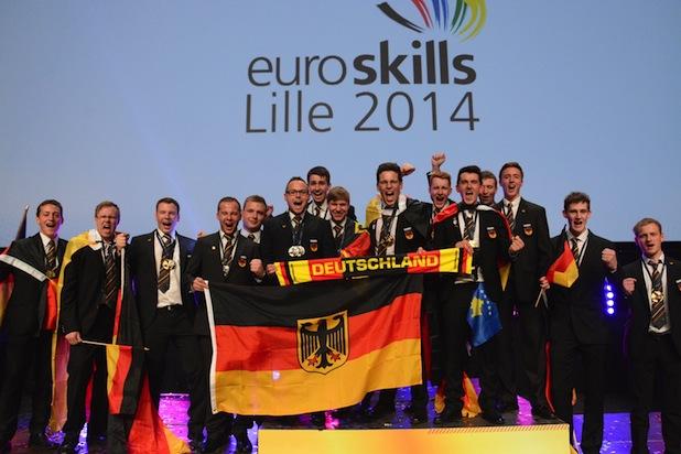 Photo of Fünf Goldmedaillen für Team Germany bei EM der Berufe in Lille