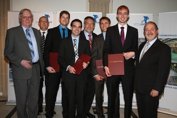 Photo of Vier Absolventen der RWTH Aachen ausgezeichnet