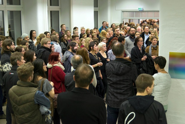 Photo of Großer Andrang bei Eröffnung der Brauhausfotografie 23