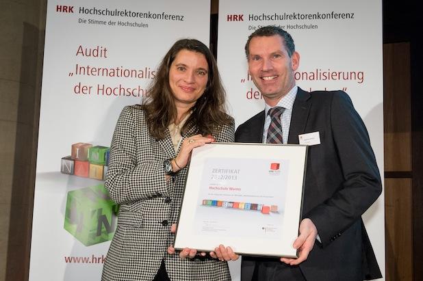 Photo of Hochschule Worms zertifiziert – Audit Internationalisierung der HRK erfolgreich durchlaufen