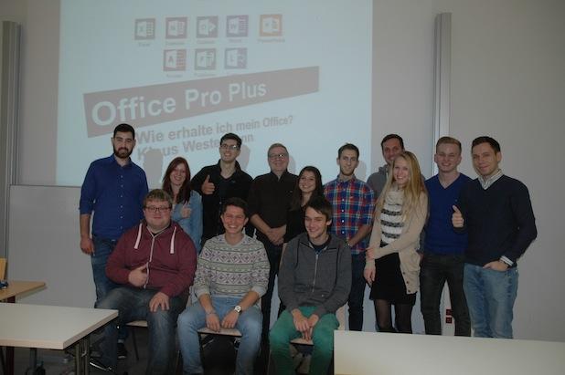 """Photo of Kick-off für """"Office 365 Pro Plus"""" an der Hochschule Worms"""