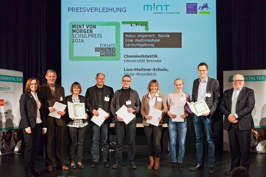 """Photo of Fachdidaktik-Team der Universität Bremen gewinnt """"MINT von morgen Schulpreis"""""""