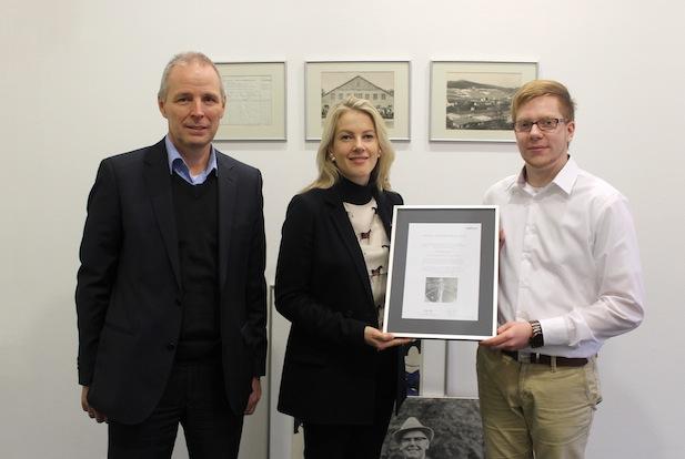 Photo of Ernst Kusch-Preis 2014: Florian Seipp erhält den begehrten Nachwuchspreis