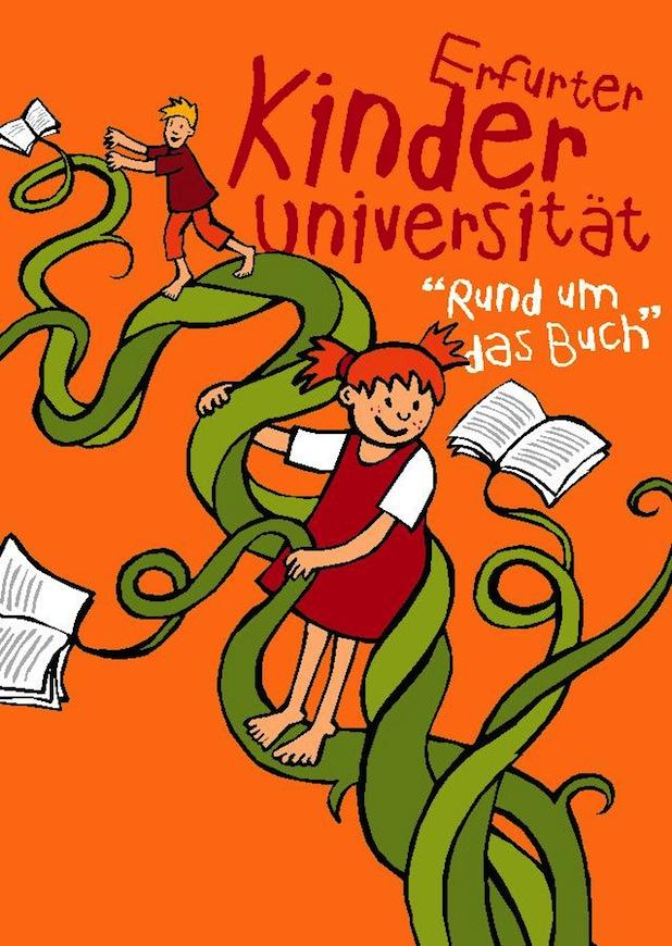 """Photo of Universität Erfurt lädt 2015 zum zehnten Mal zur Kinderuni """"Rund um das Buch"""" ein"""