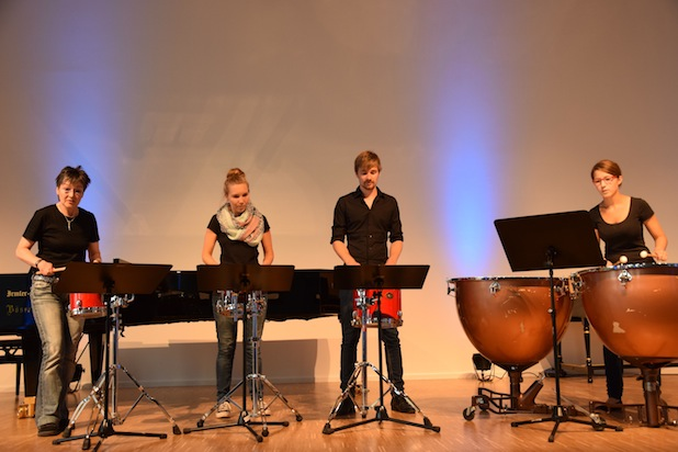 Photo of Studierende musizieren an der Universität Bamberg