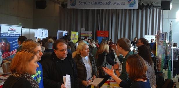 Photo of SchülerAustausch-Messe in München informiert über Schüleraustausch und Work and Travel