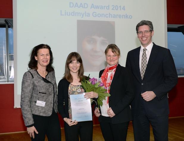 Photo of Ukrainerin erhält DAAD-Preis