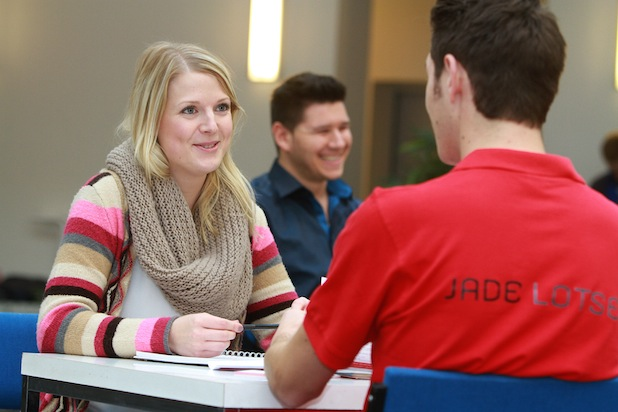 Photo of Speed Dating an der Jade Hochschule