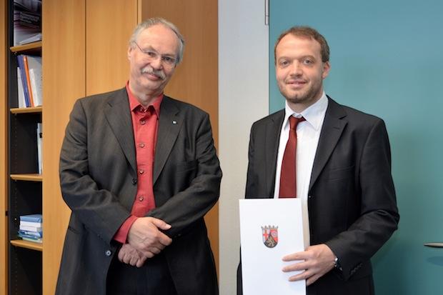 Photo of Neuer Professor für Volkswirtschaftslehre und quantitative Methoden berufen