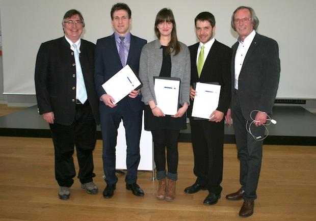 Photo of Hochschulförderverein zeichnet herausragende Abschlussarbeiten aus