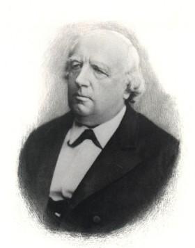 Bild: Karl Theodor Wilhelm Weierstrass. Quelle: Universität Paderborn.