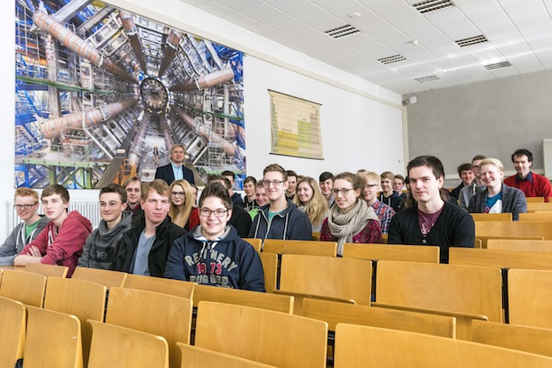 Photo of Teilchenphysik hautnah