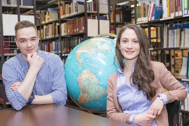 Photo of Studierende vertreten das Sultanat Oman