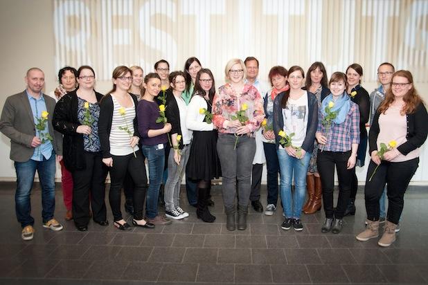 "Photo of 17 neue ""Pflegeexperten Chest Pain Unit"" an der Universitätsmedizin Mainz ausgebildet"