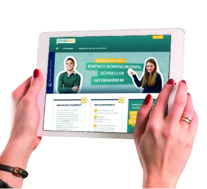 """Photo of Universität Erfurt präsentiert mit """"STUDIMAT"""" einzigartiges Tool zur Studienrichtungswahl"""