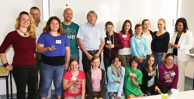 Photo of Wissen, wo es spannend ist – Girlsday 2015 an der Hochschule Worms