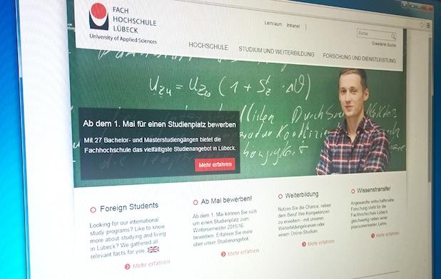 Photo of Fachhochschule Lübeck mit neuem Web-Auftritt