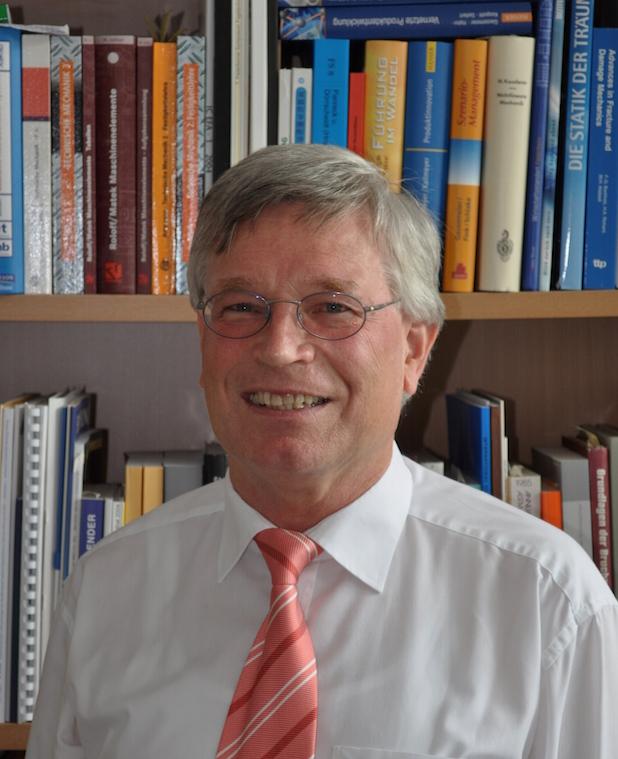 Photo of Prof. Dr. Hans Albert Richard, Universität Paderborn, neuer Vorstandsvorsitzender des Deutschen Verbandes für Materialforschung und -prüfung (DVM)