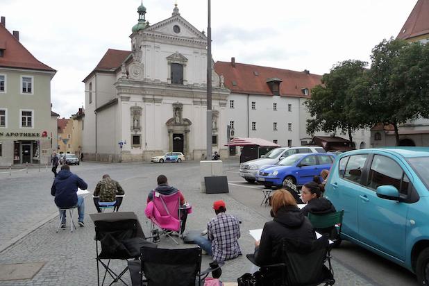 Photo of Exkursion führte Koblenzer Studierende nach Regensburg