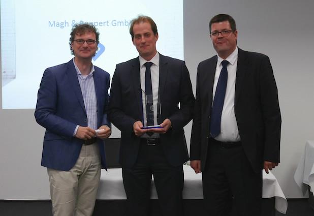 """Photo of Magh und Boppert GmbH mit Qualitätslabel """"Unternehmensgründung aus der Universität Paderborn"""" ausgezeichnet"""