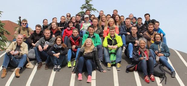 Photo of Studierende des Fachbereichs Bauwesen besuchten Kopenhagen und Hamburg