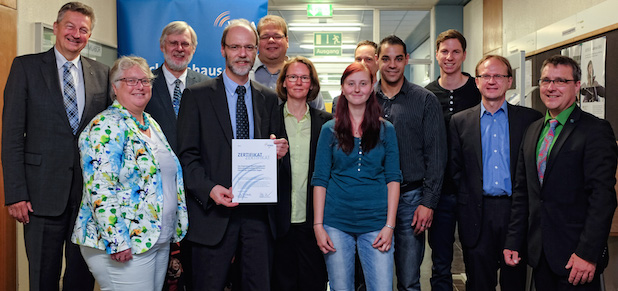 Photo of Erfolgreicher Abschluss des Maschinenhaus-Transfer-Projekts an der Uni Siegen.