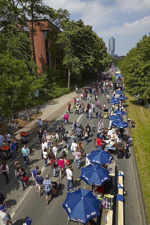 Photo of Fest zum 50-jährigen Jubiläum der Ruhr-Universität