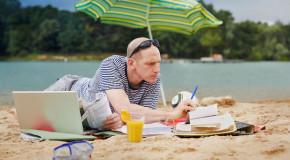 Umfrage: 45 Prozent denken in den Ferien zumindest gelegentlich an die Arbeit