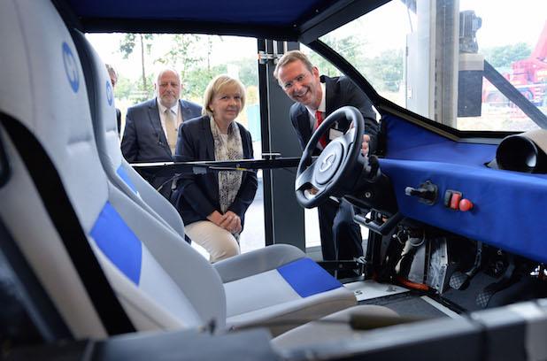 Photo of NRW-Ministerpräsidentin Hannelore Kraft zu Gast auf dem RWTH Aachen Campus