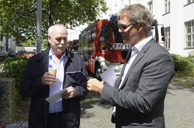 Photo of Heinz Hellberg nahm Abschied vom Dienst im Brandschutz an der RWTH Aachen