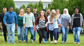 International Office bietet Sprachkurse für Flüchtlinge an