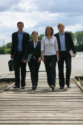 Foto: THD-Studierende - Quelle: THD - Technische Hochschule Deggendorf